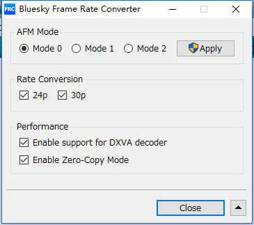 GPU硬解码AMD显卡视频播放器MPC及POTplayer外挂滤镜BFRC设置说明