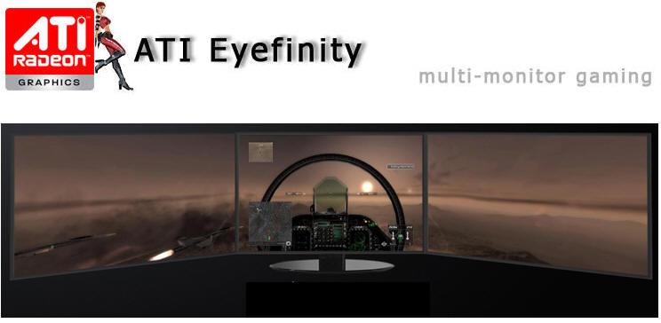 pcidv.com/ati eyefinity 5870三屏游戏效果