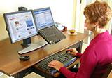 pcidv.com/液晶电视双屏支架LCD显示器双屏底座可拼接