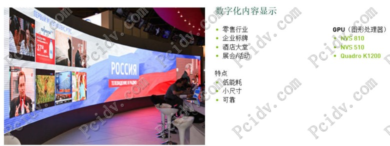 pcidv.com/quadro多屏卡拼接墙应用案例说明