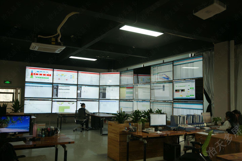 一机24屏分屏显示工厂大屏调度ERP管理浏览器多窗口不同内容