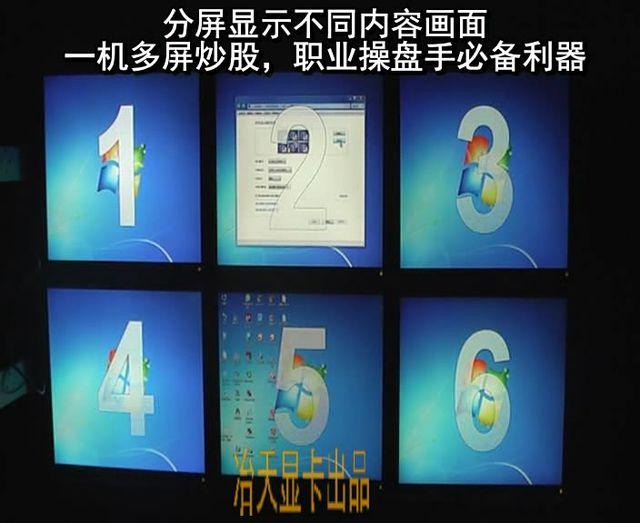 pcidv.com/职业操盘手一机6屏炒股方案