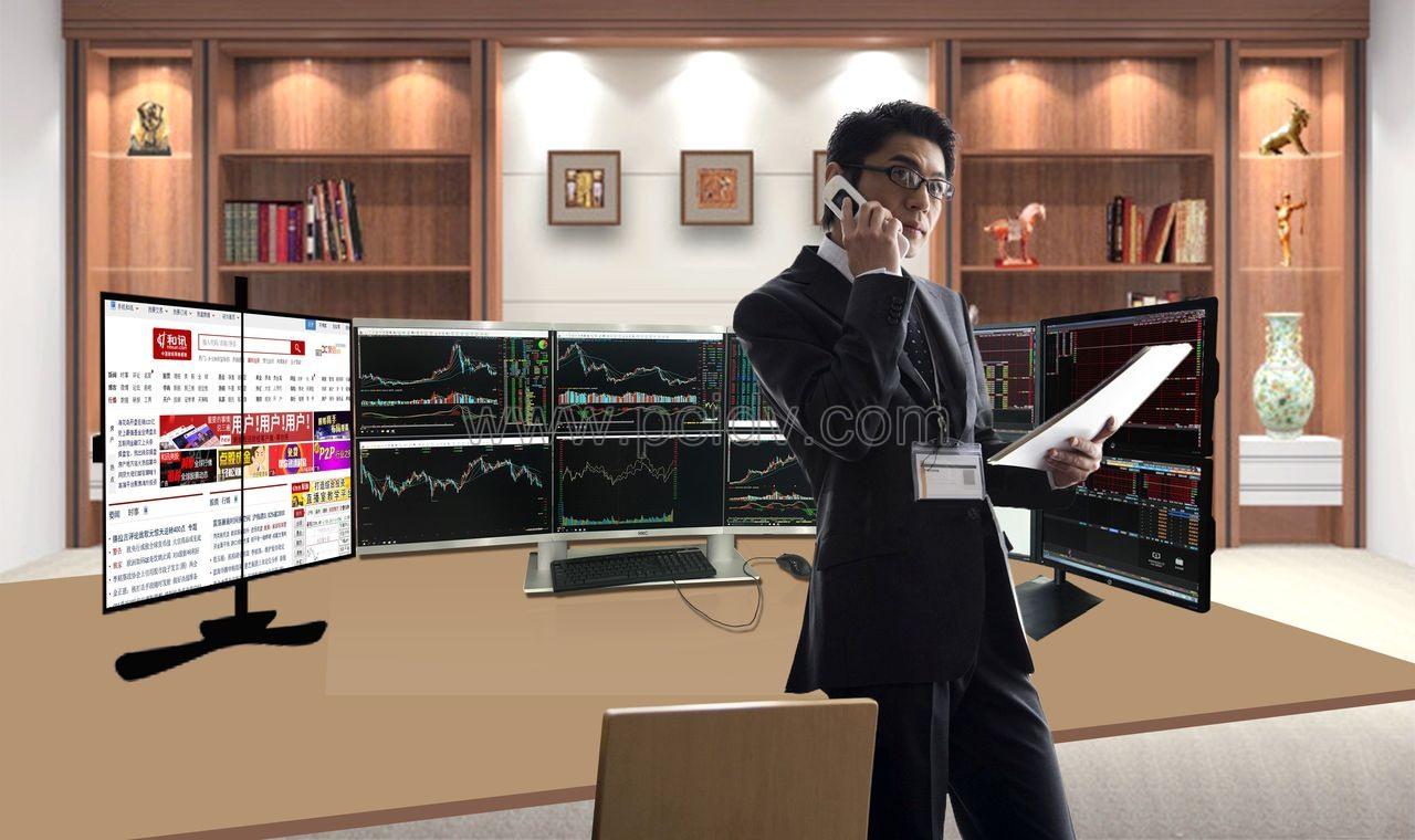 pcidv.com/一机6屏多屏股票多屏炒股票电脑