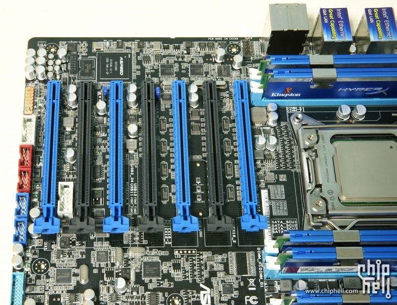 7个pcie插槽双志强CPU主板xeon工作站服务器